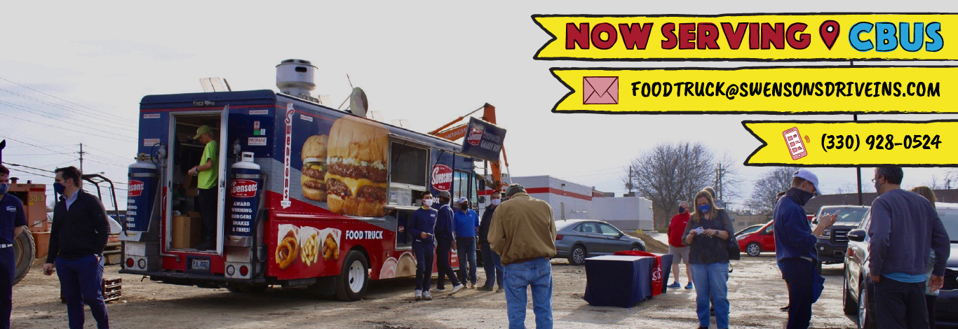 """Swensons Drive-In, Home Of The Galley Boy®, """"Americas Best Cheeseburger"""" 